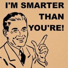 I'm Smarter!
